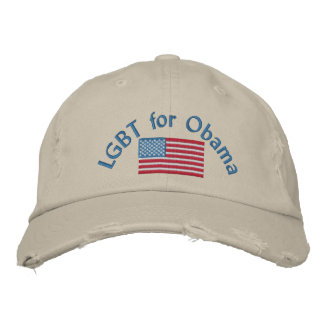 LGBT for Obama Embroidered Hats