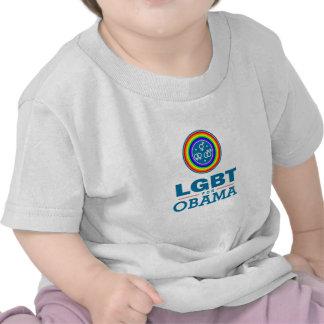 LGBT for OBAMA Tee Shirt