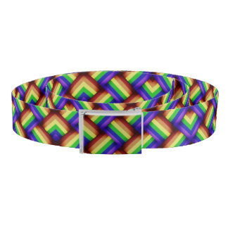 LGBT Gay Pride Party Rainbow Belt Bright