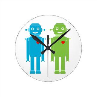 LGBT Gay Robots Clock