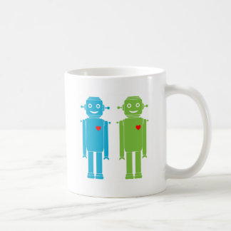 LGBT Gay Robots Mug