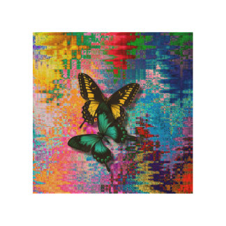 LGBT Gifts Wood Canvas