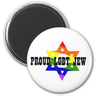 LGBT Jew Magent Magnet