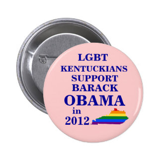 LGBT Kentuckians for Obama 2012 Pinback Button