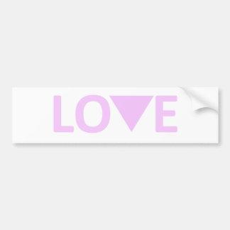 LGBT Love Bumper Sticker