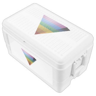 LGBT PRIDE 3D TRIANGLE CHEST COOLER