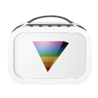 LGBT PRIDE 3D TRIANGLE LUNCHBOXES