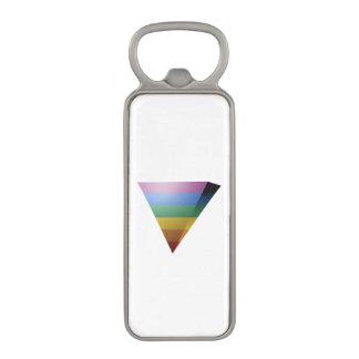 LGBT PRIDE 3D TRIANGLE MAGNETIC BOTTLE OPENER