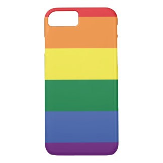LGBT | Pride Flag Design | Stripes | iPhone 8/7 Case