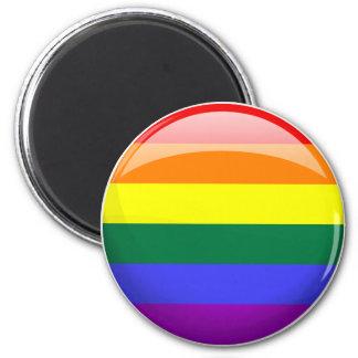 LGBT Pride Flag Magnet