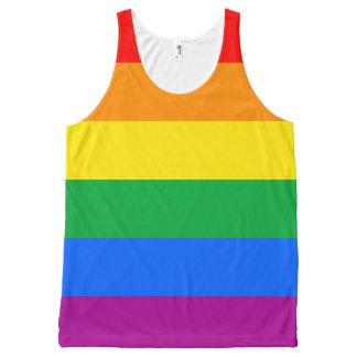 LGBT Pride Flag / Rainbow Flag All-Over Print Tank Top