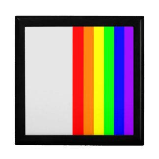 LGBT Pride Gay Pride Black Enamel Gift Box