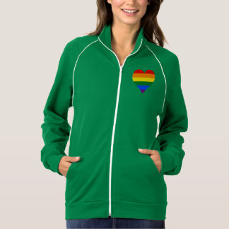 LGBT pride heart Jacket