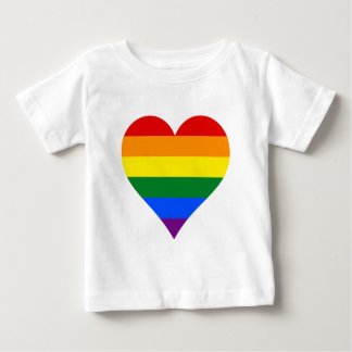 LGBT pride heart T-Shir Baby T-Shirt