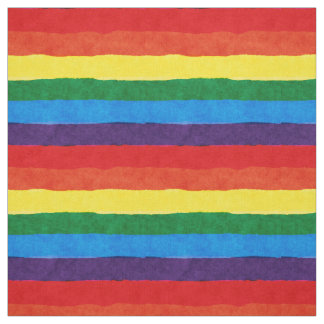 LGBT Pride Rainbow Fabric