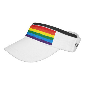 LGBT Pride Rainbow Visor