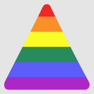 LGBT Pride Sticker Sheet (Triangle)