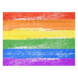LGBT RAINBOW FLAG PAINT TABLECLOTH
