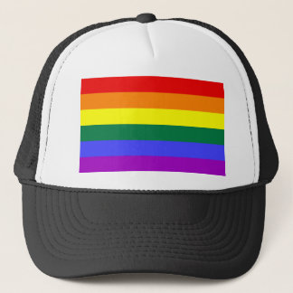 LGBT Rainbow Flag Trucker Hat