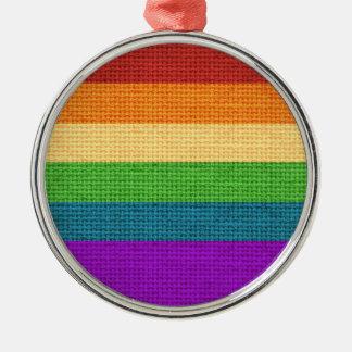 LGBT Rainbow Pride Holiday Ornament