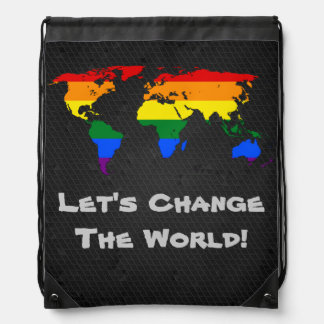 World map bags handbags zazzle lgbt rainbow pride world map backpack gumiabroncs Images