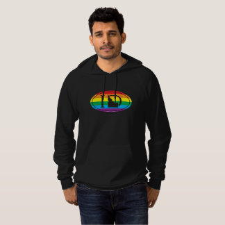 LGBT State Pride Euro: ID Idaho Hoodie