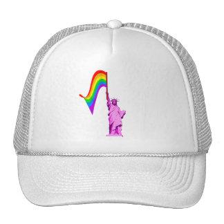 LGBT Statue of Liberty Hat