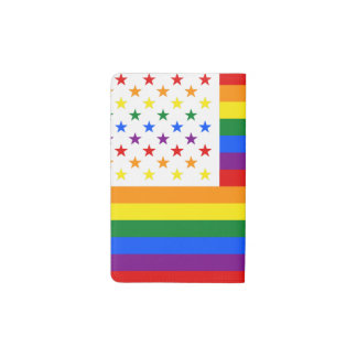 LGBT USA POCKET MOLESKINE NOTEBOOK