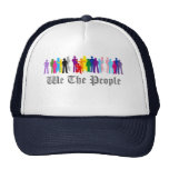 LGBT We The People design Trucker Hat