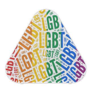 LGBT WORDS RAINBOW BLUETOOTH SPEAKER
