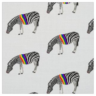 LGBT Zebra Fabric