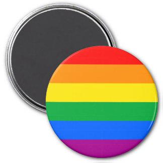 LGBTQ Pride Flag 7.5 Cm Round Magnet