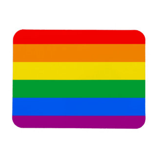 LGBTQ Pride Flag Rectangular Photo Magnet