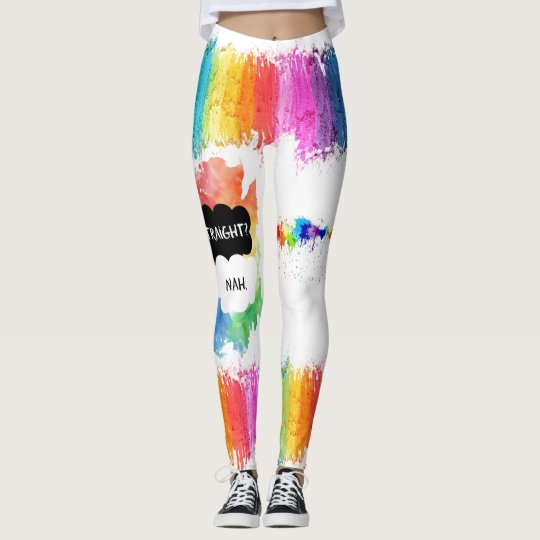 LGBTQ- Pride Leggings - Paint the Rainbow