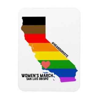 LGBTQ Women's March SLO Magnet