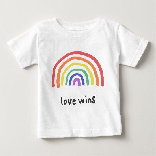 LGBTQA+ PRIDE [Love Wins] Baby T-Shirt