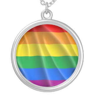 LGBTQI PRIDE SILVER PLATED NECKLACE