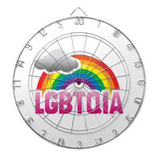 LGBTQIA RAINBOW DARTBOARDS