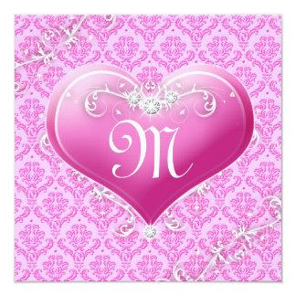 LGC | Kid's Customisable Valentine 13 Cm X 13 Cm Square Invitation Card