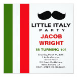 LGC Little Italy Party 13 Cm X 13 Cm Square Invitation Card