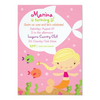 LGC The Merry Mermaid Blonde Card