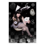 "LGG's White Rabbit 20"" x 30"" POSTER"