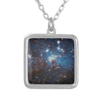 LH95 Stellar Nursery Silver Plated Necklace