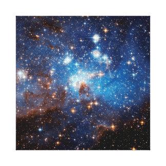 LH 95 Star Forming Region Stretched Canvas Print