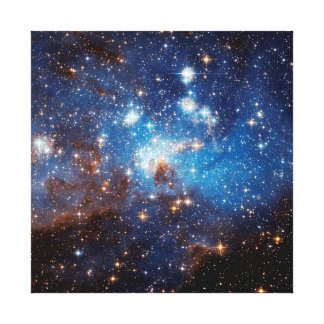 LH 95 Star Forming Region Gallery Wrapped Canvas