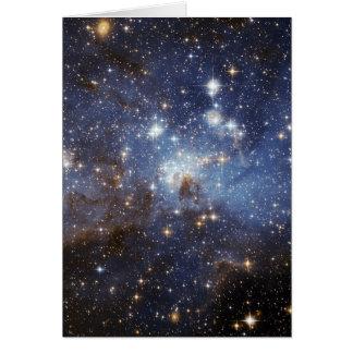 LH 95 Star forming region NASA Card