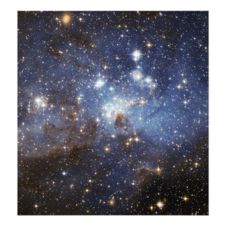 LH 95 stellar nursery space photography Photo Art