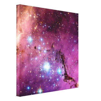 LHA 120-N11 Star Formation Stretched Canvas Print