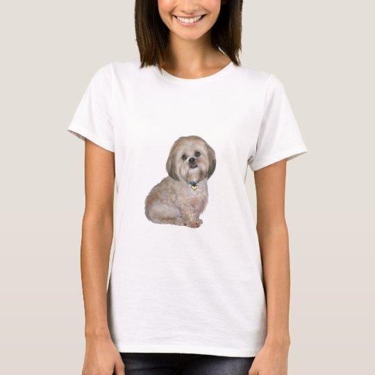 Lhasa Apso (A) - golden / cream T-Shirt