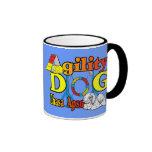 Lhasa Apso Agility Gifts Mugs